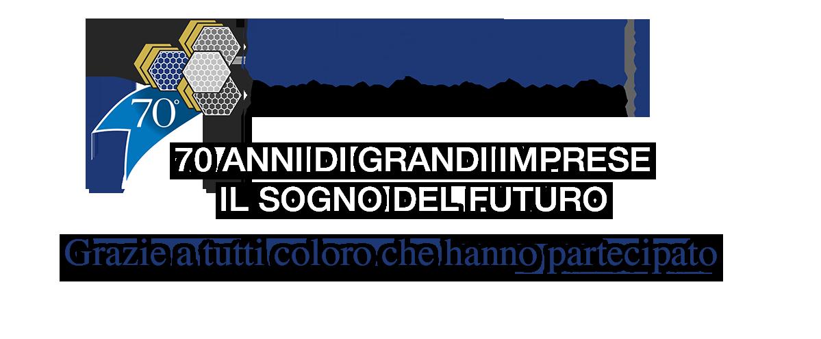 """70° anniversario CONFAPI """"70 anni di grandi imprese: il sogno del futuro"""""""